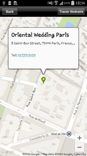 Oriental Wedding Paris截图4