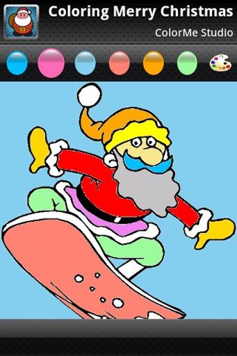 Coloring: Christmas截图0