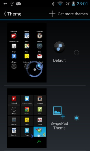 SwipePad Theme Example截图1