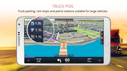 Sygic Truck Navigation截图3
