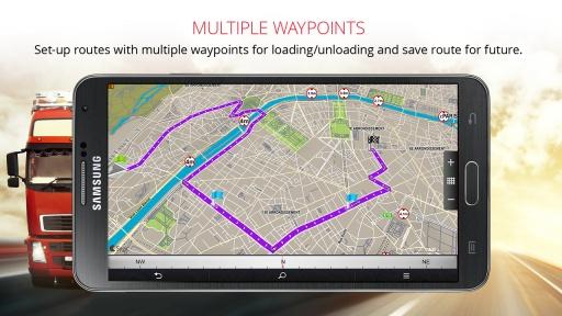 Sygic Truck Navigation截图5