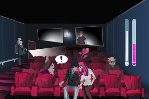 Cinema Lovers Hidden Kiss截图0