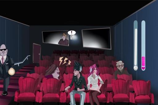 Cinema Lovers Hidden Kiss截图1