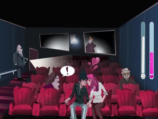 Cinema Lovers Hidden Kiss截图5