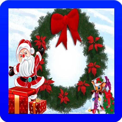 圣诞节糖果边框图片