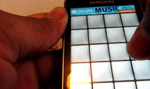 drum pads数字谱子