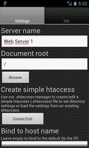 Web Server Ultimate截图1