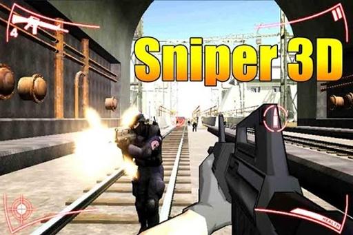 狙击手射击:超级杀手3D