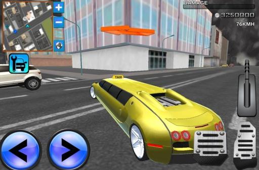 疯狂轿车3D城市驾驶截图4