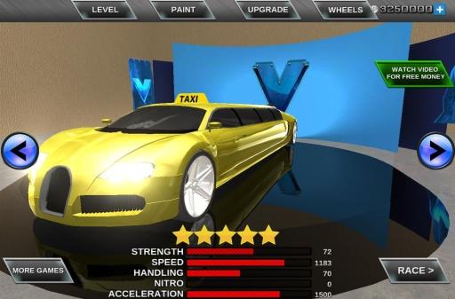 疯狂轿车3D城市驾驶截图6