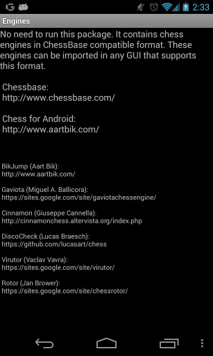 Chess Engines Package截图0