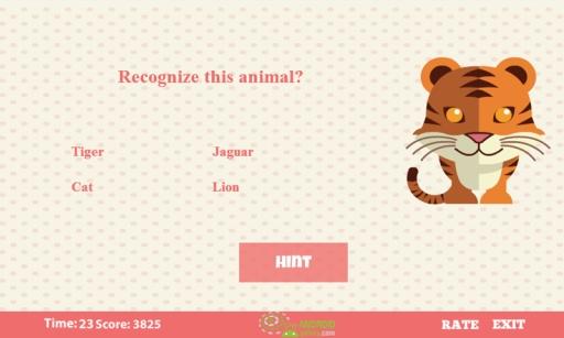 动物猜谜游戏的孩子 8