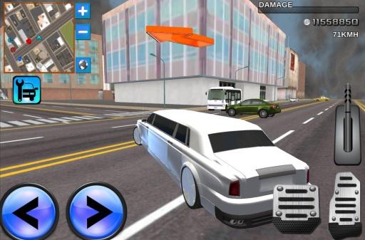 轿车驾驶模拟器3D截图1