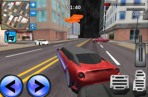 轿车驾驶模拟器3D截图3