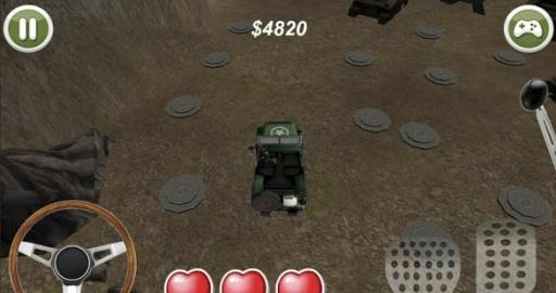 军用车辆障碍赛