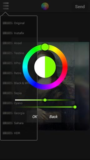 SnapKik - Snap filter & share截图1