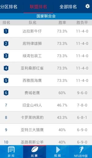NFL中国截图0