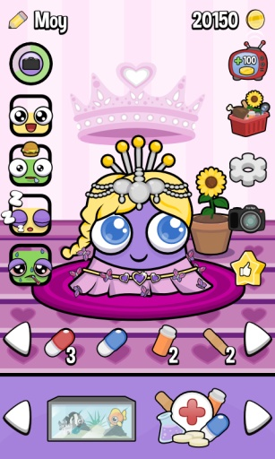 Moy 3 - Virtual Pet Game截图2