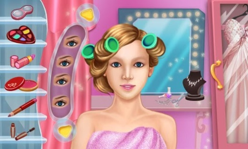 罗莎婚纱公主游戏截图3