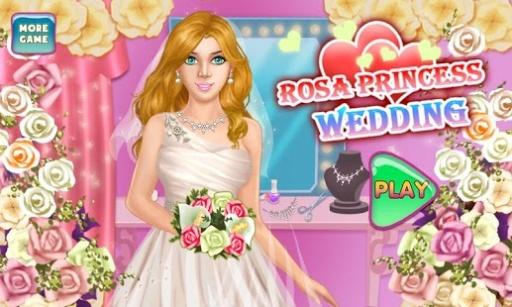 罗莎婚纱公主游戏截图4