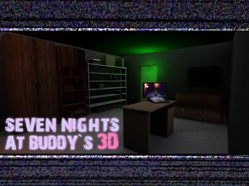 布迪玩偶的七夜 Seven Nights At Buddy's截图0