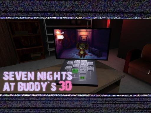 布迪玩偶的七夜 Seven Nights At Buddy's截图1