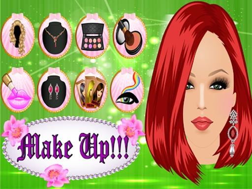 女孩派对装扮 - 化妆截图2