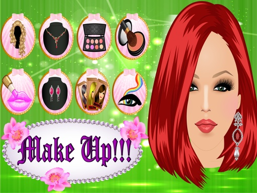 女孩派对装扮 - 化妆截图4