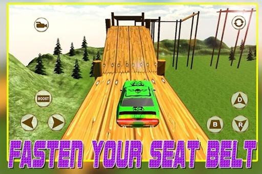 3D车载平台攀岩赛截图1