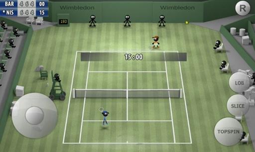火柴人网球2015截图0
