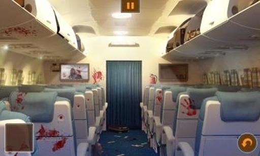 飞机上的僵尸