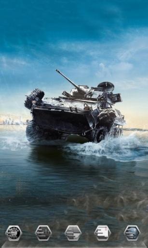 战地坦克2-3D桌面主题