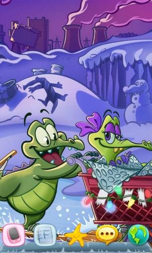 鱷魚小頑皮愛洗澡-寶軟3D主題