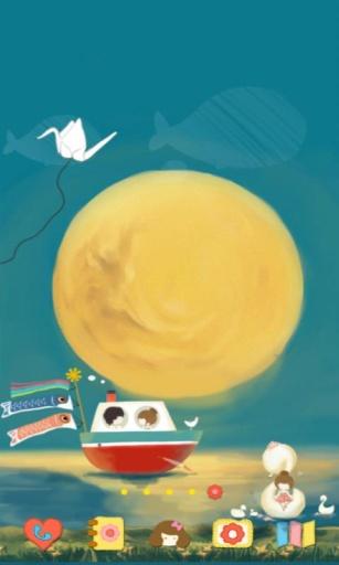 私奔到月球 動態主題截圖1