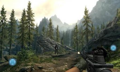 军队狙击杀手:3D目标