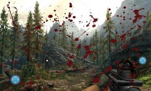 军队狙击杀手:3D目标截图1
