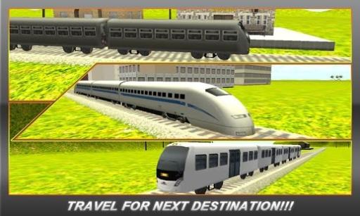 子弹头列车地铁站3D截图0