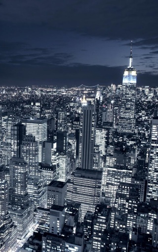 看到自由女神像这是纽约市最知名的地标