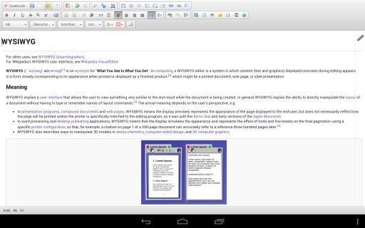 WYSIWYG HTML Editor截图2
