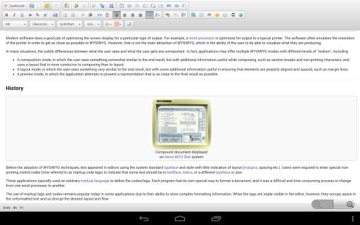 WYSIWYG HTML Editor截图3