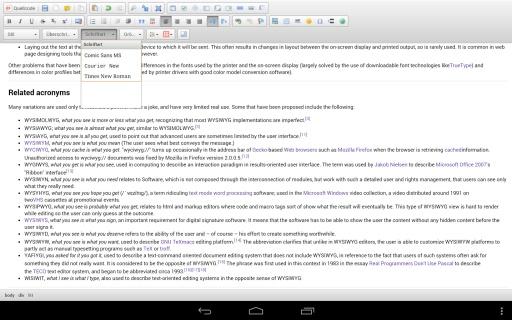 WYSIWYG HTML Editor截图4