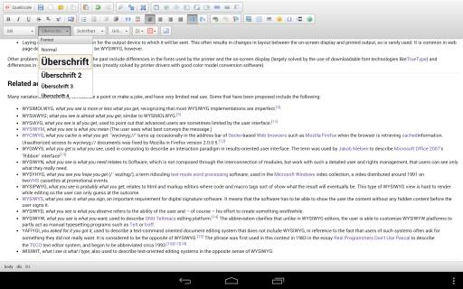 WYSIWYG HTML Editor截图5