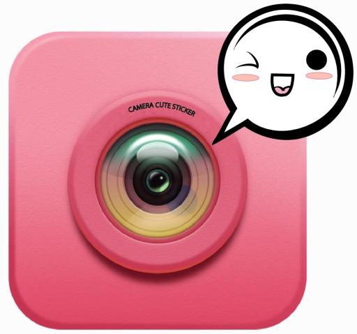 Cute Camera Stickers截图0