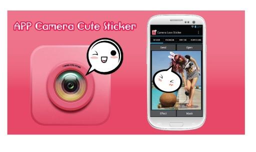 Cute Camera Stickers截图1