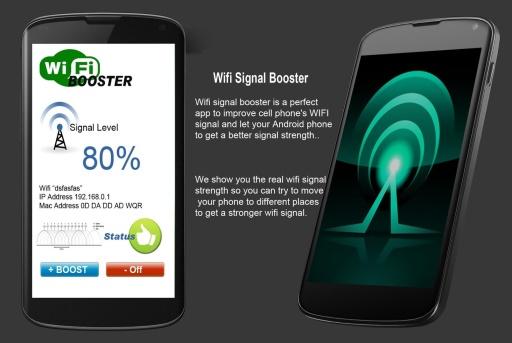 Wifi 信號的助推器