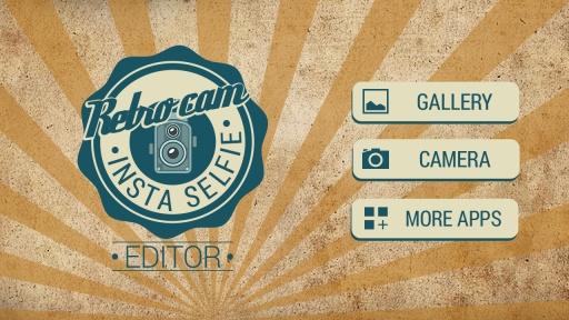 Retro Cam Insta Selfie Editor截图1