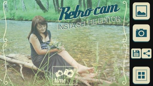 Retro Cam Insta Selfie Editor截图3