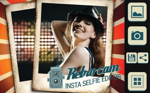 Retro Cam Insta Selfie Editor截图5