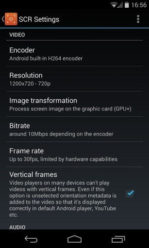 SCR 5+ Screen Recorder Pro截图1