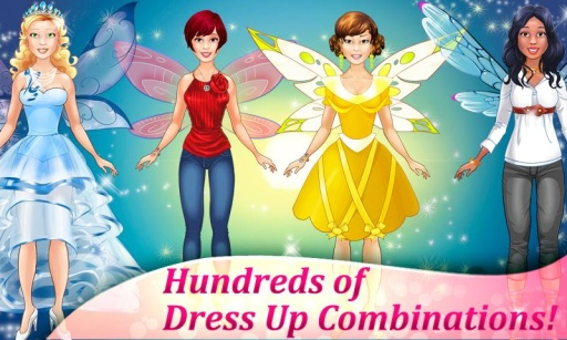 Fairy Dress Up - Makeover Game截图1